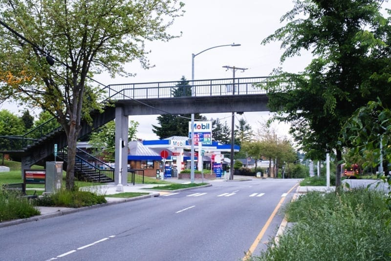 The Holman Road Overpass